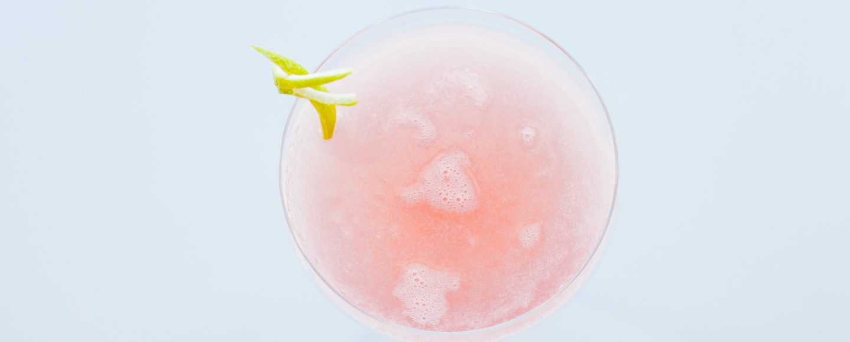 light pink drink