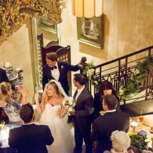 Bride at wedding event