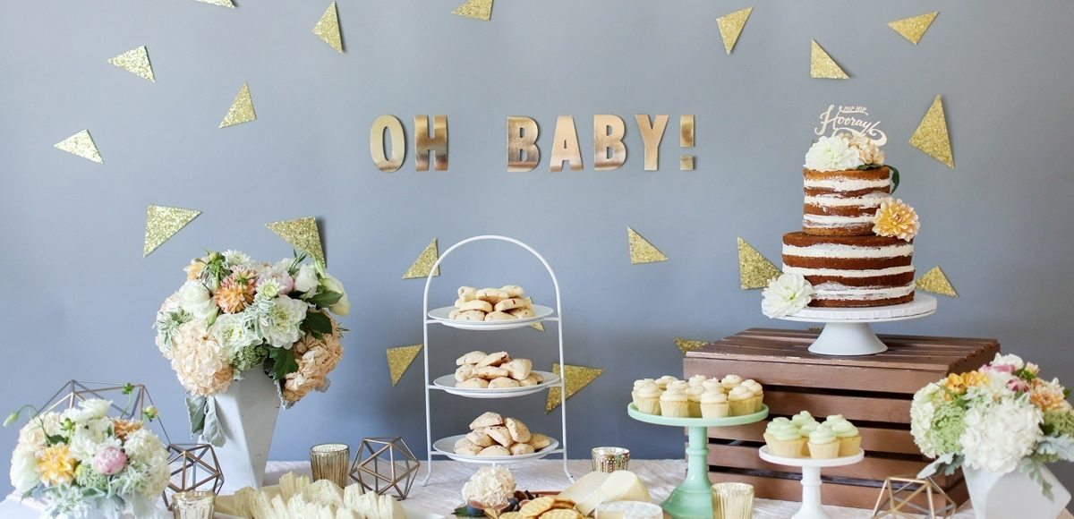 Baby shower catering