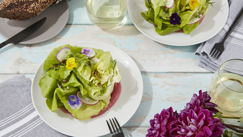 Garden Salad, Lemon Verbena Vinaigrette