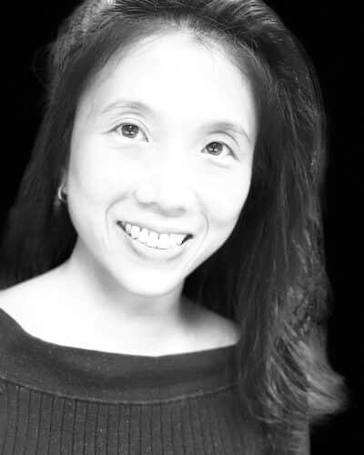 Betty Lee Headshot, Black & White