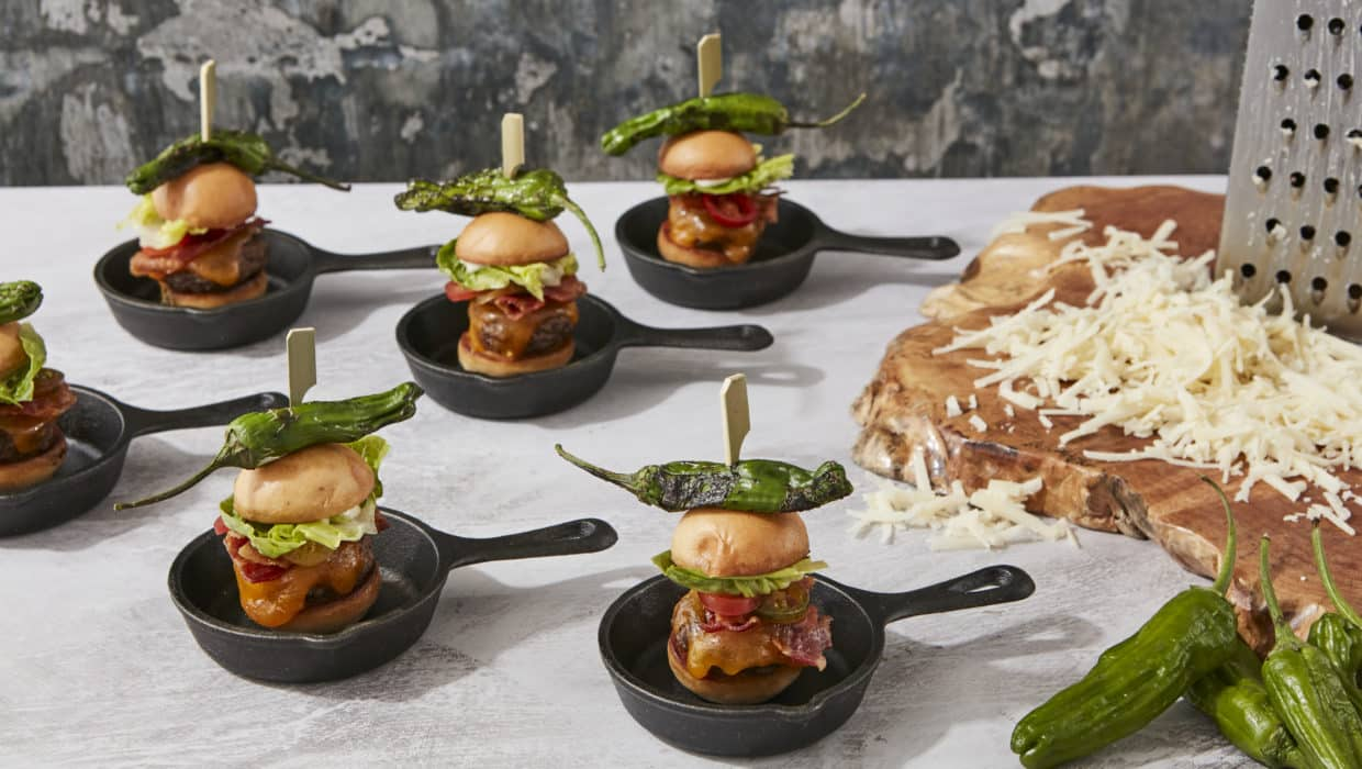 Hors d'Oeuvre - New York Burgers