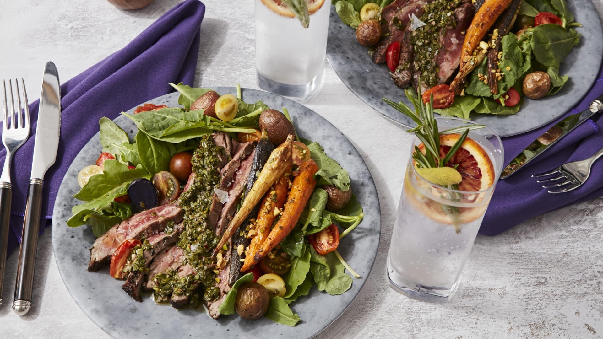 Lunch Main, Beef Tenderloin Roast Vegetables
