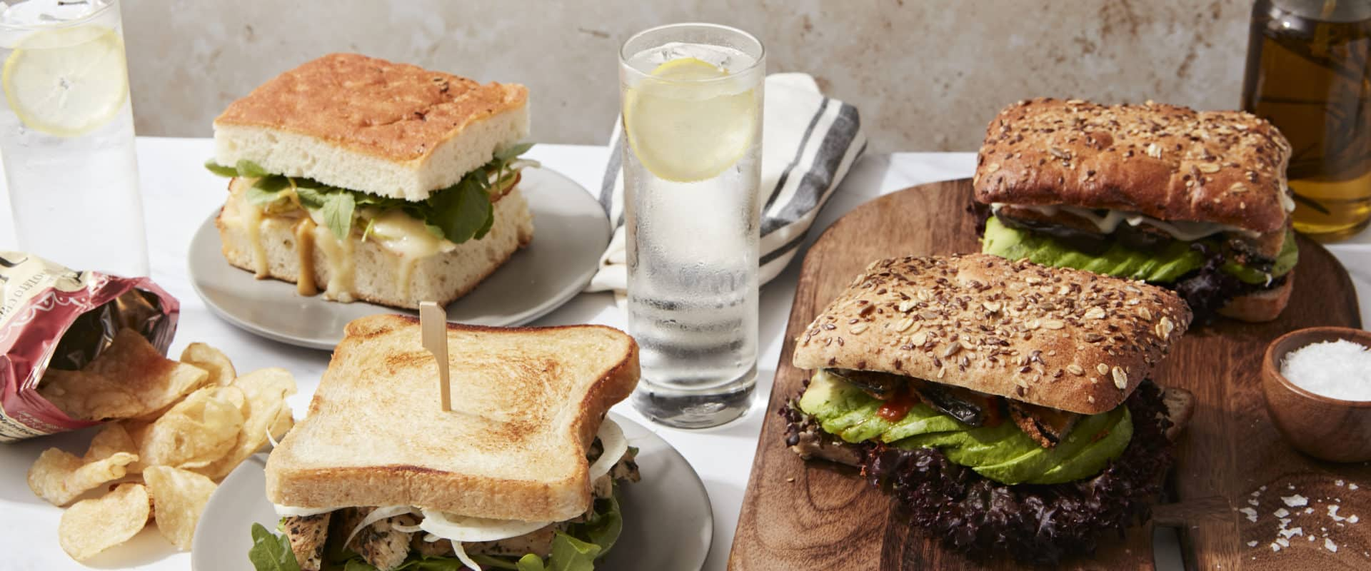 Office Lunch Sandwiches