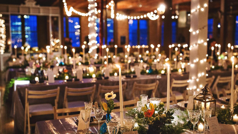 Wedding room set up, Metropolitan Building